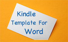 Kindle Template For Word