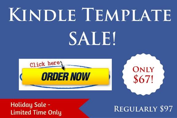 Kindle Template Christmas Sale