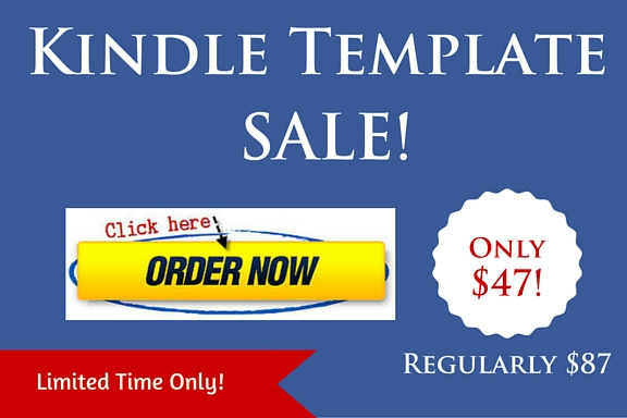 Kindle Template Sale!